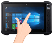 P-Cap Multi-touch Display with Optical Bonding Technology