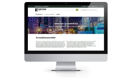 Sensor ECS har fået ny hjemmeside